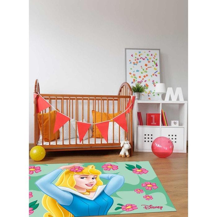 tapis enfant et disney princesse aurore polypropyl ne vert walt disney la redoute. Black Bedroom Furniture Sets. Home Design Ideas