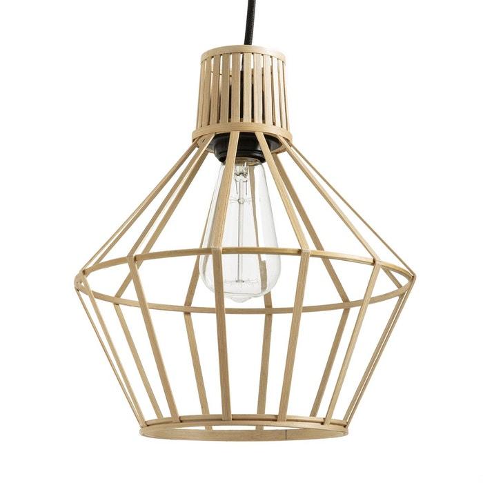 suspension en bambou achara naturel la redoute interieurs la redoute. Black Bedroom Furniture Sets. Home Design Ideas