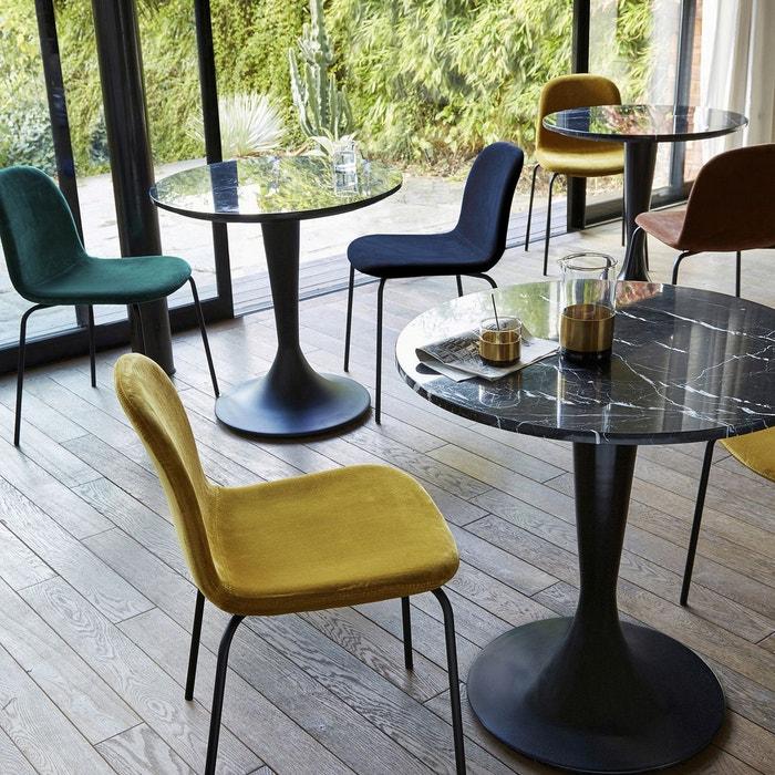 plateau table bistrot marbre 75 cm aradan am pm la redoute. Black Bedroom Furniture Sets. Home Design Ideas