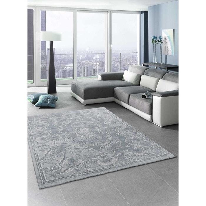 tapis de salon moderne design baroque soyeux acrylique un amour de tapis la redoute. Black Bedroom Furniture Sets. Home Design Ideas