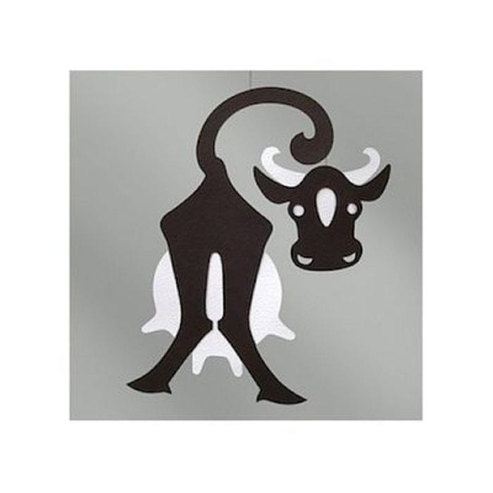 Mobile vache noir blanc 19cm couleur unique livingly la redoute - La redoute telephone gratuit ...