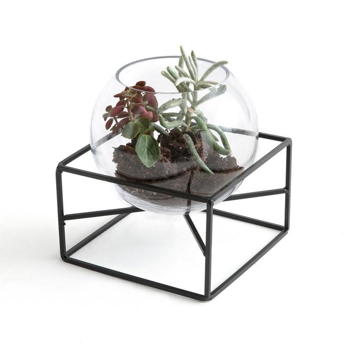 Vaso em vidro e metal TADI  La Redoute Interieurs image 0