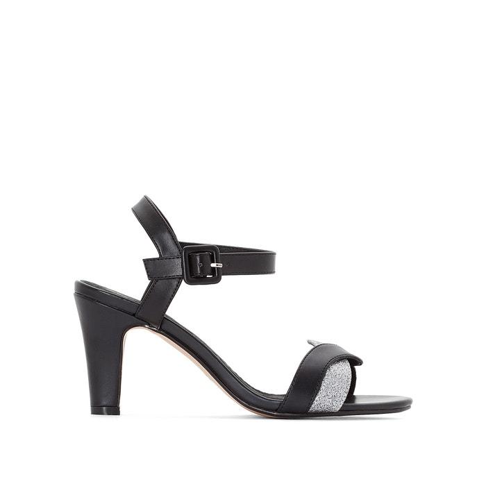 Wide-Fit Metallic-Detail Sandals, Sizes 38-45  CASTALUNA image 0