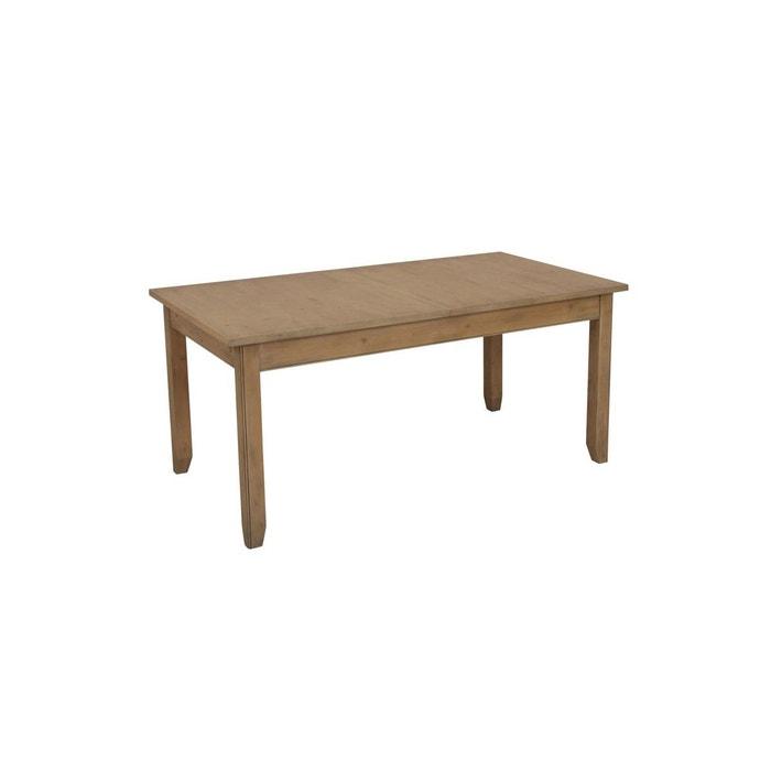 Table rectangulaire allonges interior s la redoute - La redoute table a manger ...