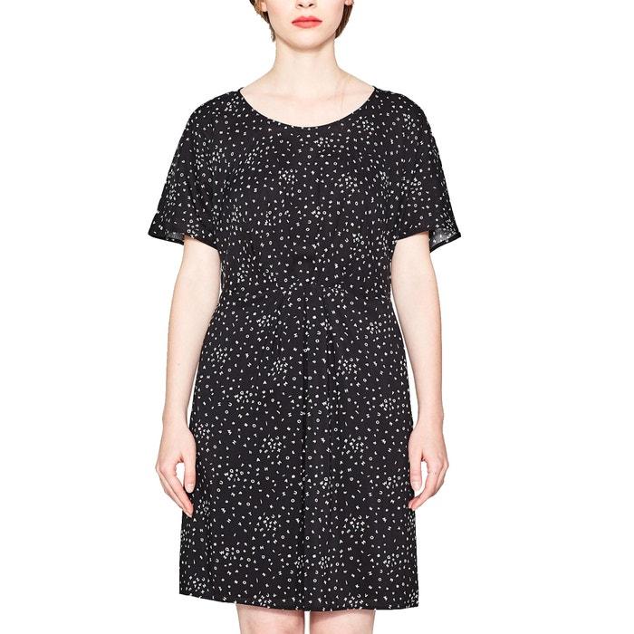 afbeelding Korte jurk met korte mouwen ESPRIT