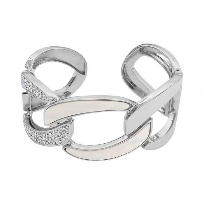 Bracelet adore naturale en métal argenté blanc Adore | La Redoute À Vendre Pas Cher Réel Geniue Stockiste En Ligne Pas Cher Prix Le Moins Cher Prise 3Q50h71