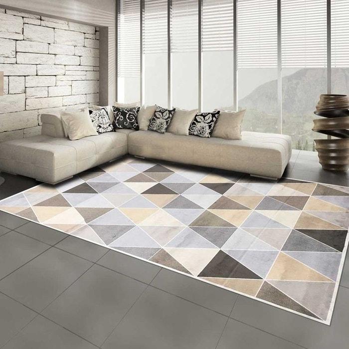 Tapis de Salon Moderne Design VT TRIANGULA SPIRIT - viscose