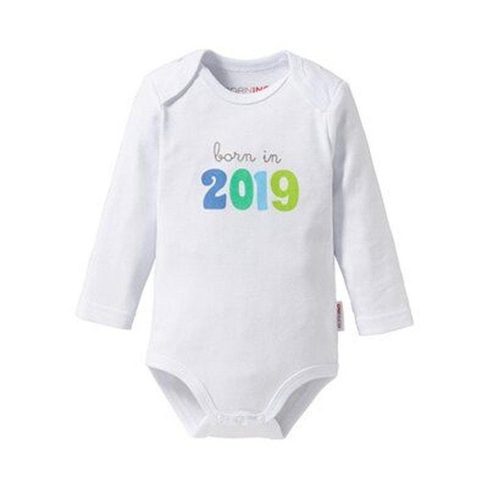 Bornino body à manches longues born in 2019 bébé Bornino  655e9871c3d