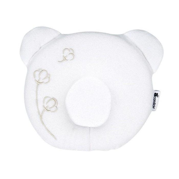 coussin cale t te b b p 39 tit panda nature blanc candide couleur unique candide la redoute. Black Bedroom Furniture Sets. Home Design Ideas