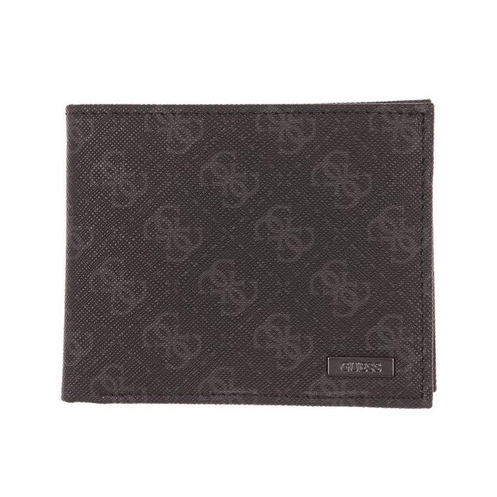 cc9c20024c Portefeuille italien guess monogrammé avec porte-monnaie noir Guess | La  Redoute