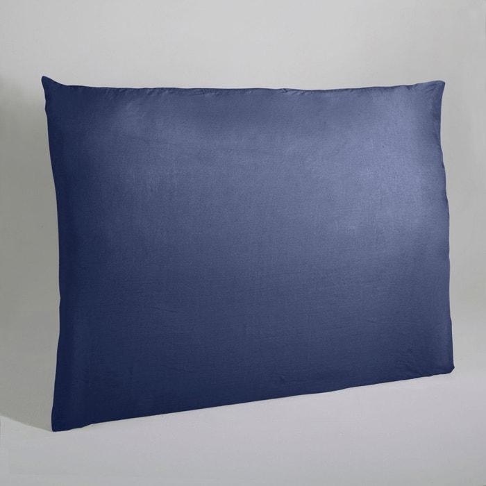 housse de t te de lit lin lav mereson bleu indigo am pm. Black Bedroom Furniture Sets. Home Design Ideas