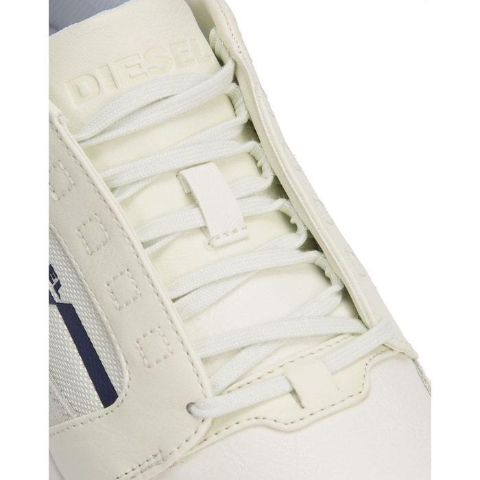 Sneakers fleett blanche pour homme blanc Diesel