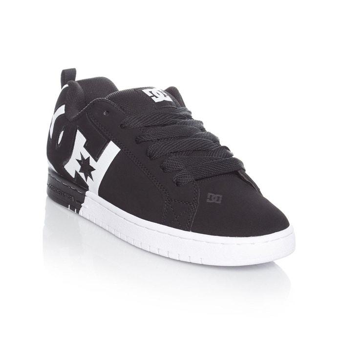 Chaussure DC Court Graffik SQ Noir-Blanc