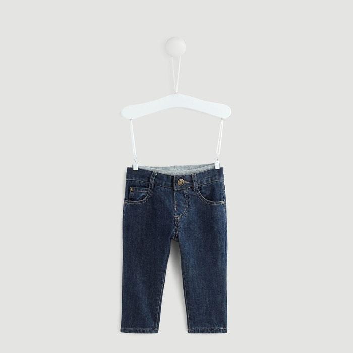 e9bde019dcaa5 ... Bébé garçon 0-3 ans · Pantalon, jean. Jean doublé BOUT'CHOU image 0