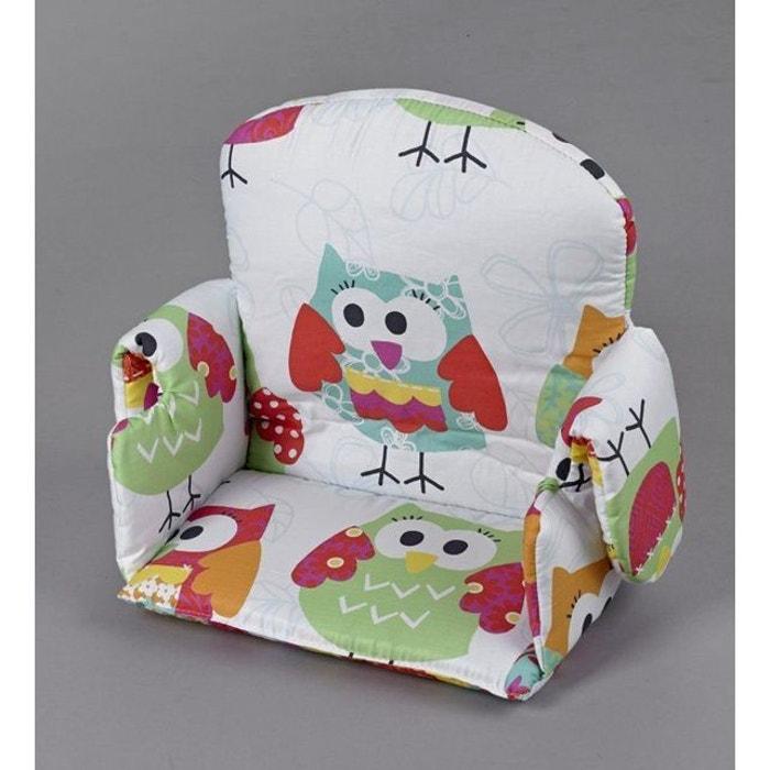 r ducteur tissus avec accoudoir pour chaise haute geuther chouette geuther la redoute. Black Bedroom Furniture Sets. Home Design Ideas
