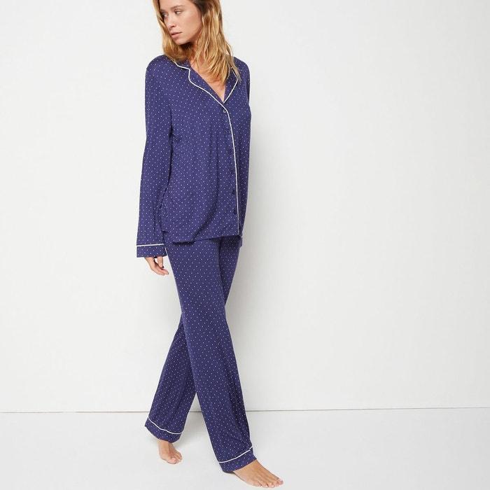 Pyjama Monoprix Redoute La Bleu Pois À F6qHrFT