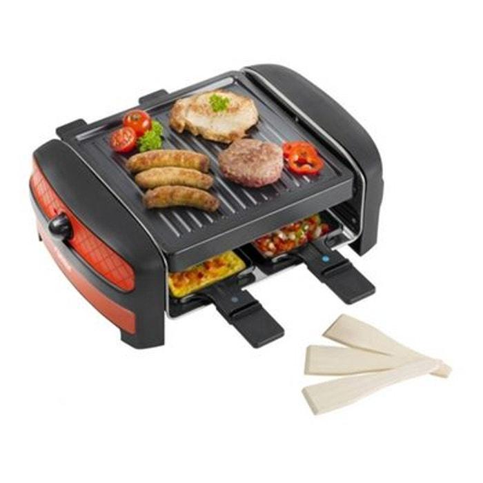 appareil raclette grill design pour 4 personnes bestron la redoute. Black Bedroom Furniture Sets. Home Design Ideas