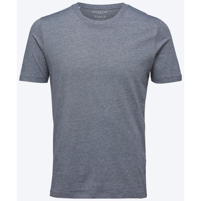 afbeelding T-shirt met ronde hals en korte mouwen SELECTED