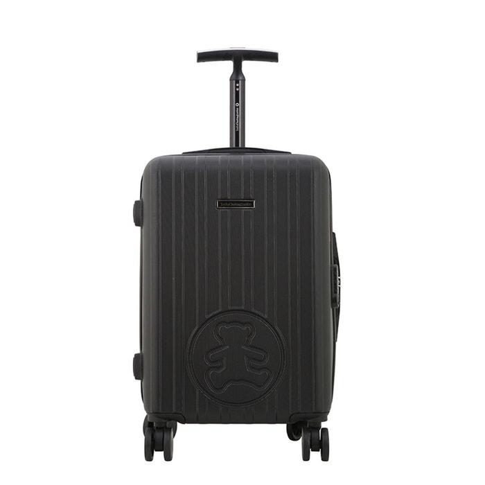 Lulu castagnette valise cabine rigide abs 8 roues 55 cm gde silver noir lulu castagnette la - Valise cabine lulu castagnette ...