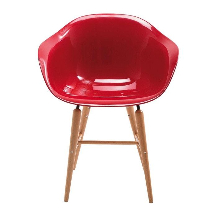 Chaise avec accoudoirs forum rouge kare design rouge kare design la redoute for Chaise kare design