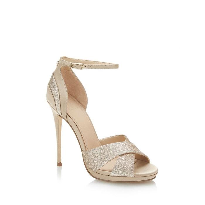 Sandale tabatha paillettes  beige Guess  La Redoute