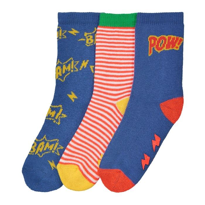 Confezione da 3 paia di calze da 15/16 a 23/26  R essentiel image 0