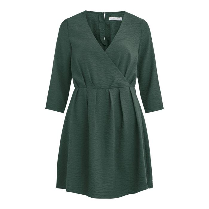 Vestido verde vila