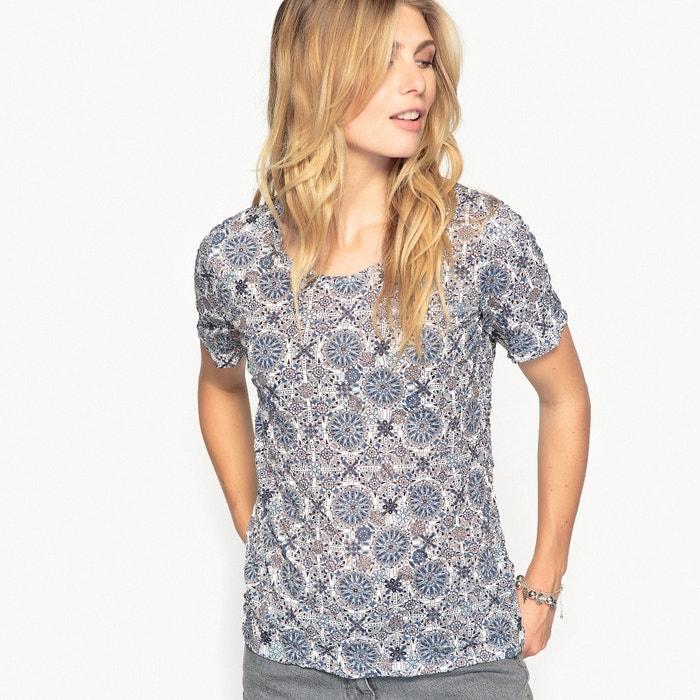 afbeelding Bedrukt T-shirt, gekreukt jersey ANNE WEYBURN