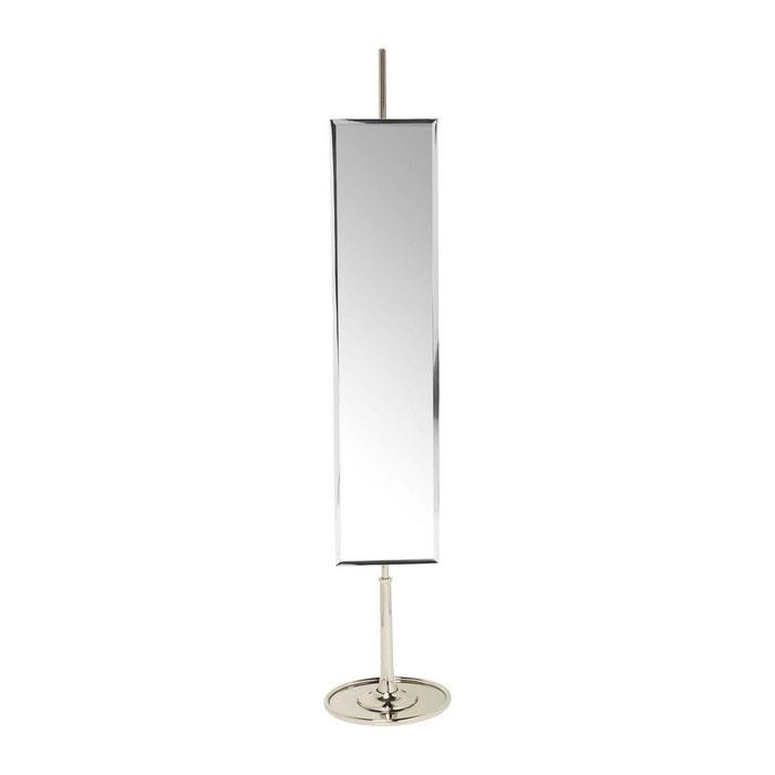 Miroir sur pied soho rectangulaire kare design argent kare for Miroir sur pied design