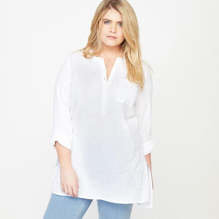 Рубашка с длинными рукавами белый Castaluna | купить в ...: http://www.laredoute.ru/ppdp/prod-350056273.aspx