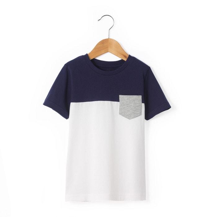 afbeelding Bicolor T-shirt 3-12 jr La Redoute Collections