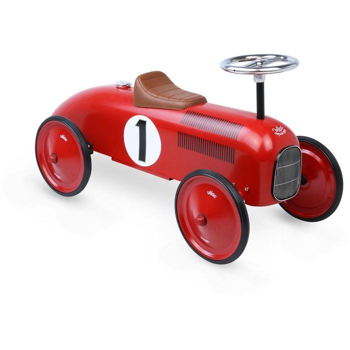Porteur voiture en métal Vintage rouge  VILAC image 0
