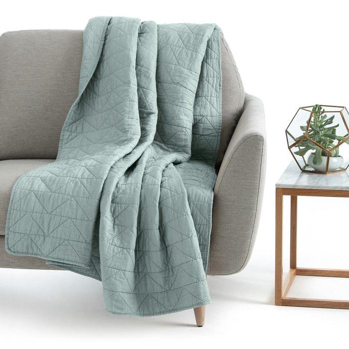 boutis matelass zig zag pur coton scenario la redoute interieurs la redoute. Black Bedroom Furniture Sets. Home Design Ideas
