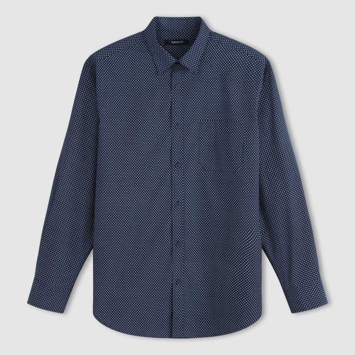 Bild Langärmeliges Hemd, bedruckter Popeline TAILLISSIME