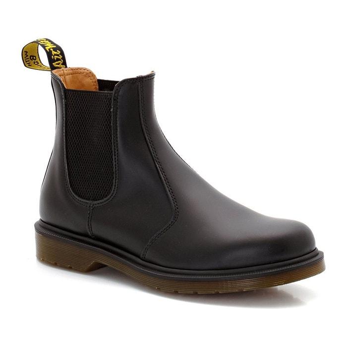 Boots cuir chelsea noir Dr Martens