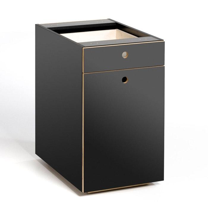 caisson de bureau 1 porte 1 tiroir caliban am pm la. Black Bedroom Furniture Sets. Home Design Ideas