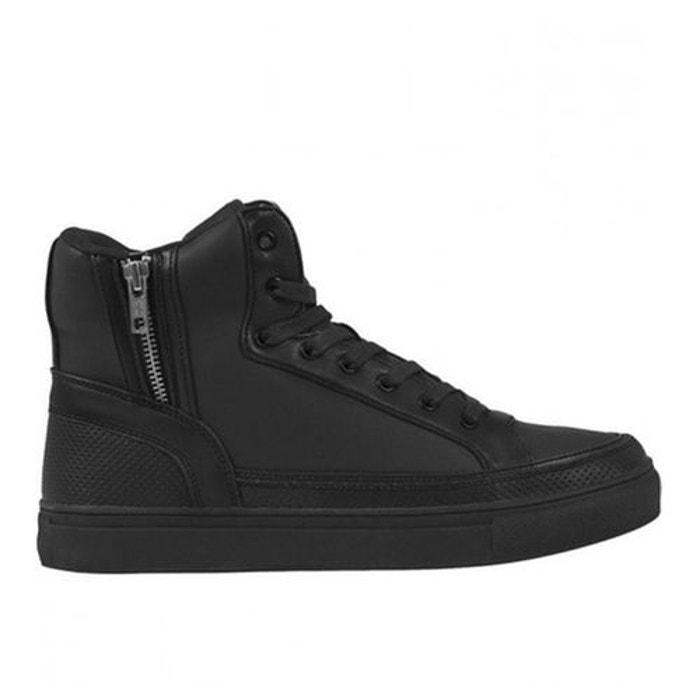 Chaussures montantes avec zip  noir Urban Classics  La Redoute