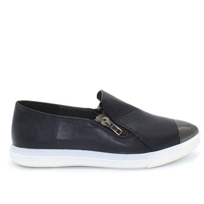 Basket slippers noir Kebello  5404e63df