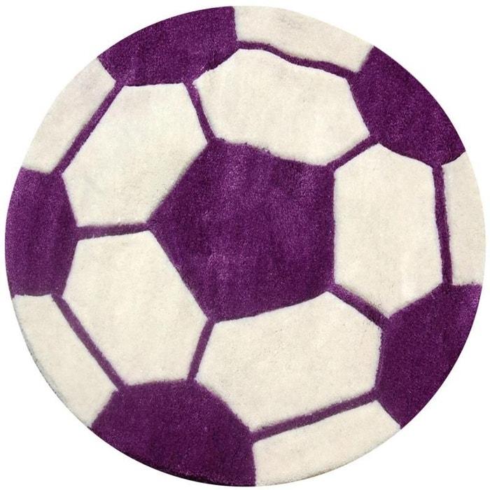 Tapis enfant rond ballon violet violet Natacha B | La Redoute