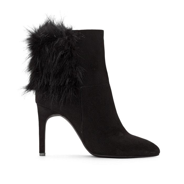 Noir À La Haut Talon Boots Redoute Collections Arrière Fantaisie OPWHCWnqv