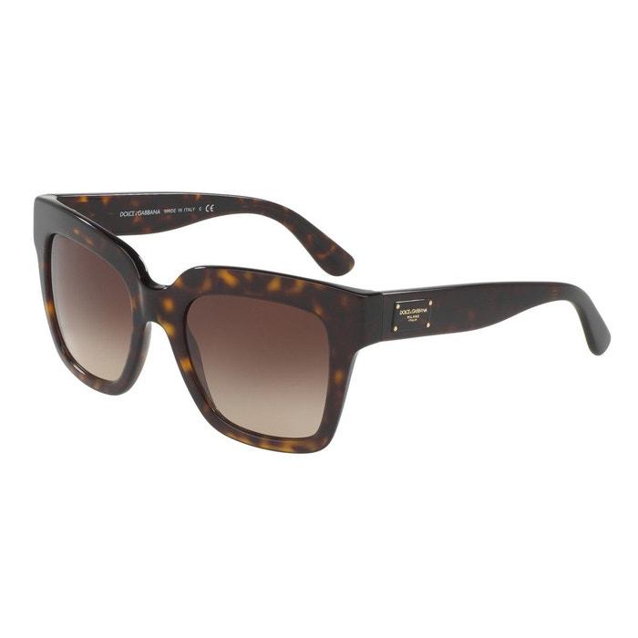 Lunettes de soleil dg4286 marron glacé Dolce Gabbana | La Redoute Meilleur Magasin Rabais Pour Obtenir Original Prix Pas Cher 100% Authentique Vente En Ligne Qpwx4Q3