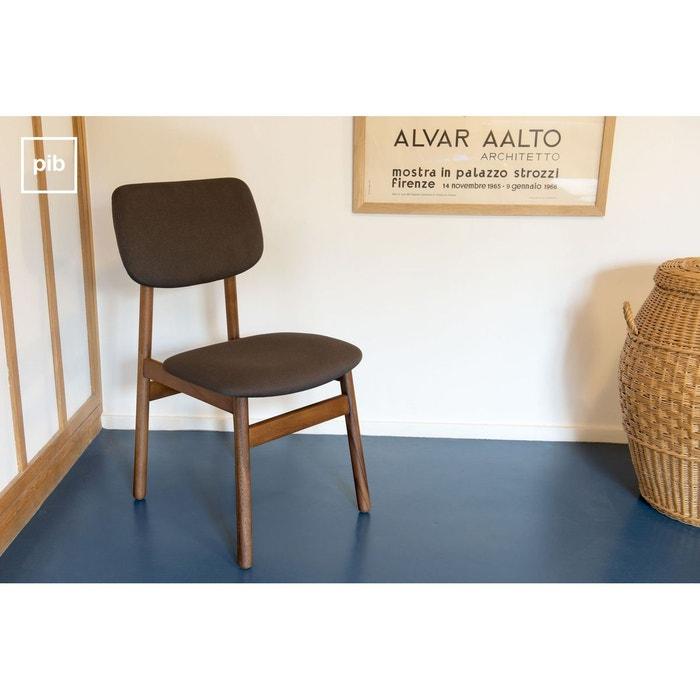 chaise en bois larss n gris produit interieur brut la. Black Bedroom Furniture Sets. Home Design Ideas