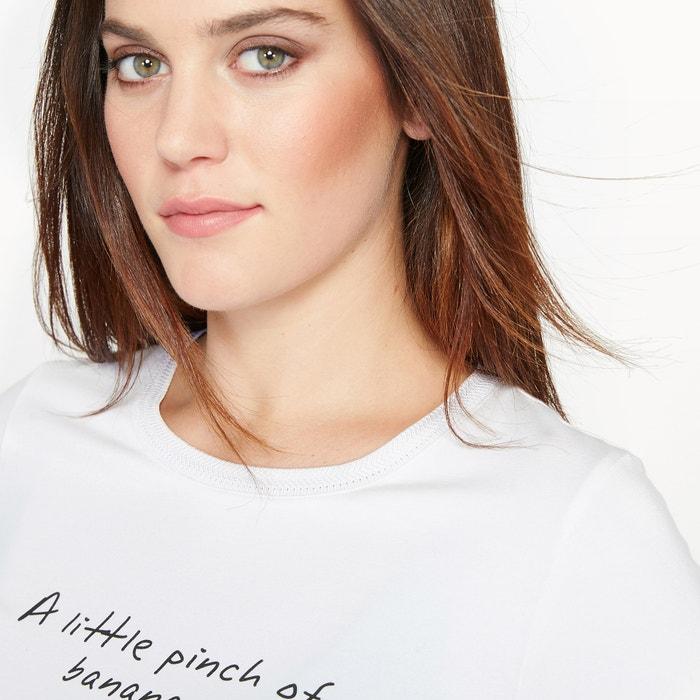 estampada corta CASTALUNA manga de Camiseta fw7qP
