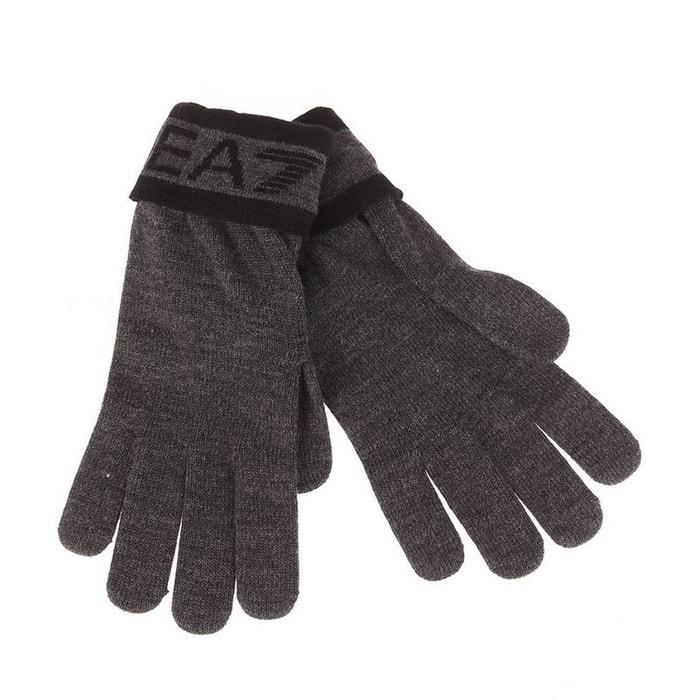 S avec logo imprimé en noir et revers aux poignets acrylique noir Ea7 | La Redoute acheter Offres En Vente En Ligne T9RMDcTnE6