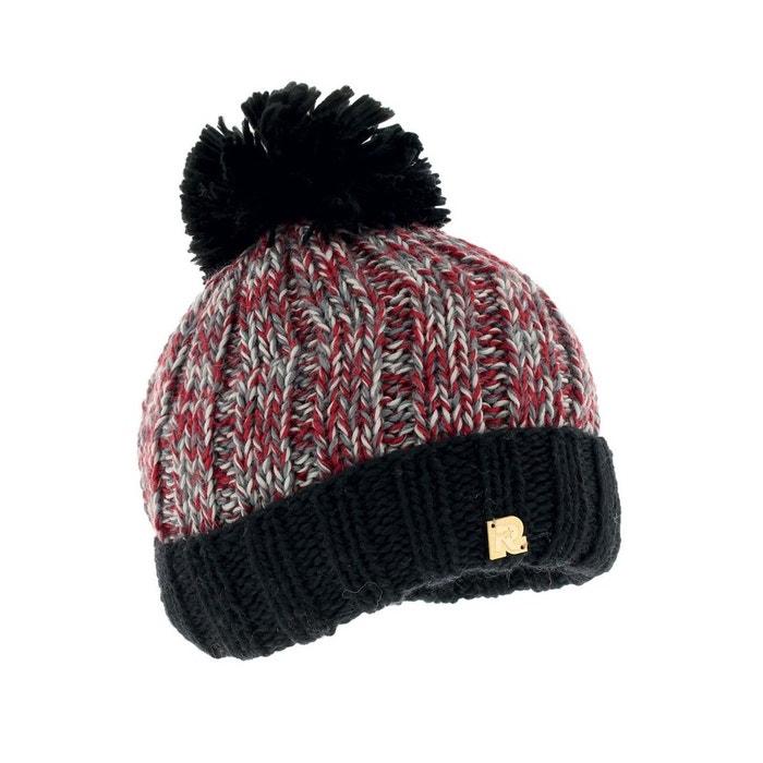 Bonnet grosse maille, noir multicolore Toutacoo | La Redoute