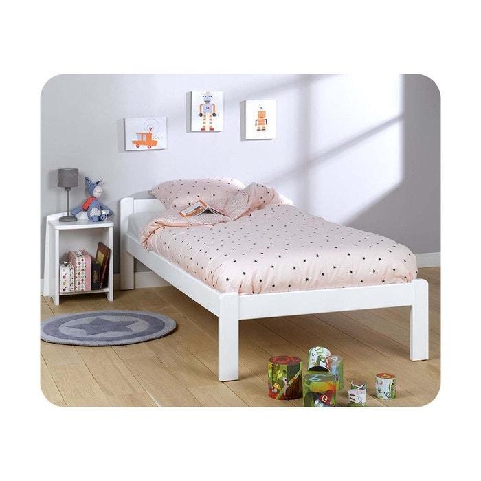 Lit enfant beddy 90x190 cm blanc ma chambre d 39 enfant la redoute - Chambre enfant la redoute ...