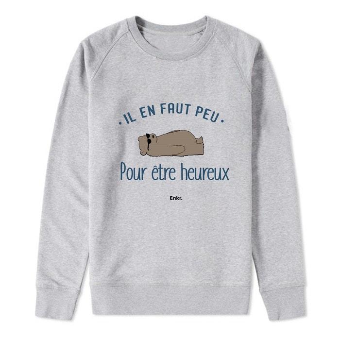 Enkr En Il Redoute Faut Peu Sweat La Gris xAXq5w7