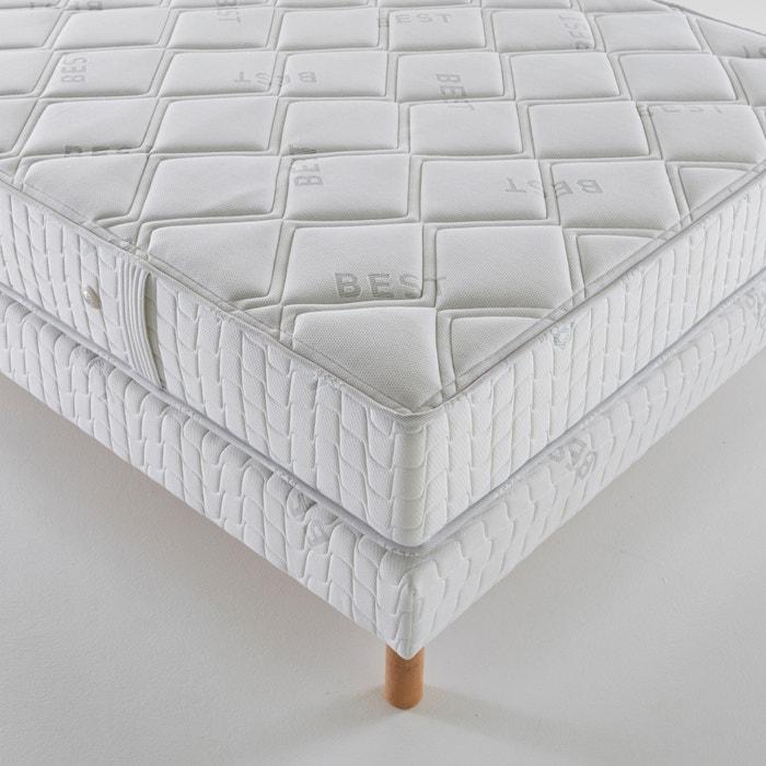 taschenfederkern matratze hart 3 zonen h 23 cm weiss. Black Bedroom Furniture Sets. Home Design Ideas