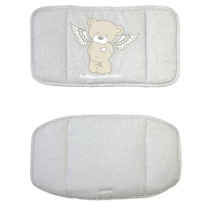 Roba le r ducteur de si ge ourson ange accessoires for Chaise haute bebe la redoute