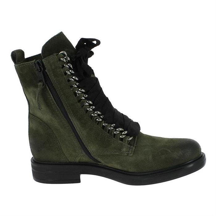 Vente Exclusive En Ligne Bottines / boots cuir kaki Mjus Offre Magasin De Sortie z2i5g